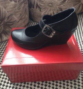 Туфли кожаные 34 размер