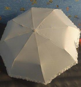 Белый зонт Dolphin ☂️