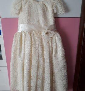 Праздничное  платье 110-122