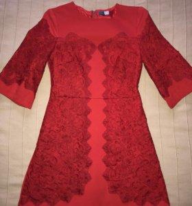 Платье AMN в стиле dolce gabbana
