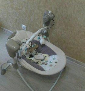 Детские электронные качели