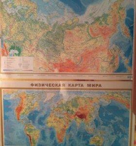 Карты России и мира