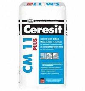 Клей для плитки Церезит СМ 11, 25кг