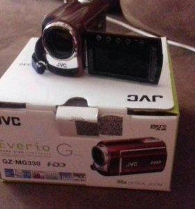 Видеокамера JVC GZ-MG330 новая 30 cb памяти