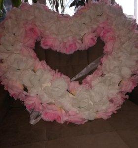 Свадебное украшение!!!