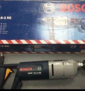 Дрель Bosch gbm 16-2 re
