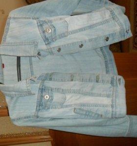 Женская летняя джинсовка