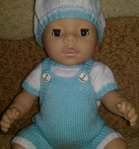 Вязаная одежда для кукол беби бон