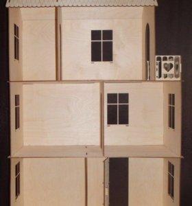Кукольный домик 75 см высота.