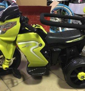 Электромобиль-мотоцикл детский