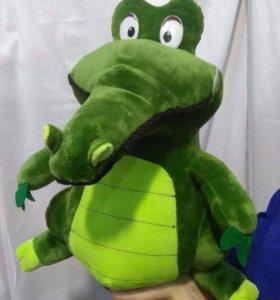 Игрушка плюшевая. Крокодил, 40 см