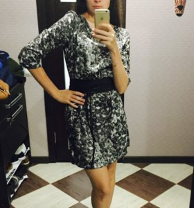 Платье-туника шелковая 44 размера