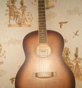 акустическая гитара, 6 струн