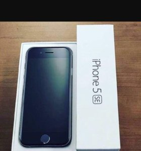 iPhone 5se, 64 гб, серебристый