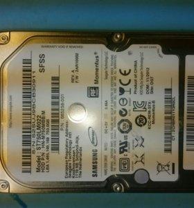 HDD Samsung 750Gb новый