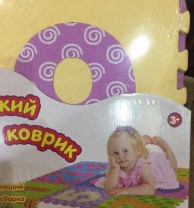 Мягкий детский коврик