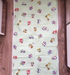 Простыня-клеенка в кроватку+подарок