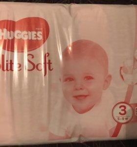 Подгузники Huggies Elit Soft 3