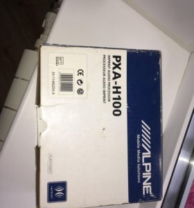 Аудиопроцессор alpine PXA-h100