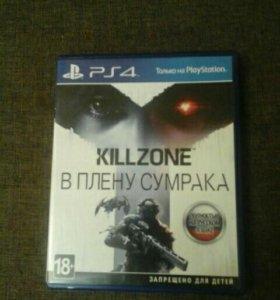 Диск на ps4 Killzone В плену сумрака