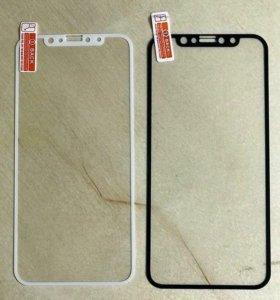 Защитное стекло 3D IPhone 8,X
