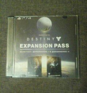 Диск на ps4 Destiny