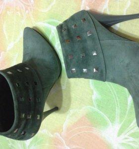 Сапоги,ботиночки 37 р-р