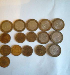Продам юбилейные монеты)))
