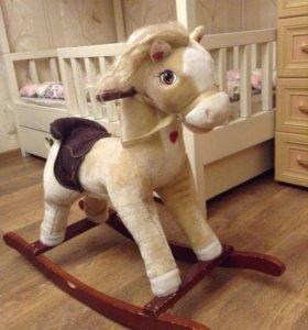 Лошадка-качалка детская