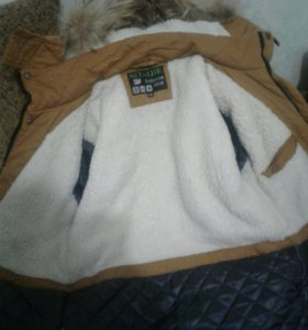 Куртка зимняя для мальчиов