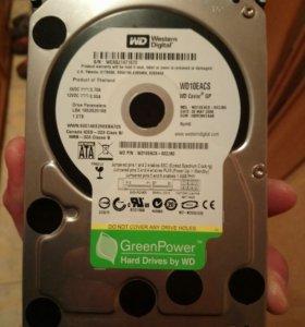 Серверный HDD1TB WESTERN WD10EACS