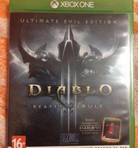 Диск на Xbox one Diablo 3