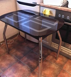 Кухонный Стол стеклянный