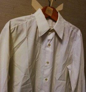 Рубашка белая,без оттенков 43/182-185