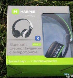 Наушники bluetooth harper hb-400 green