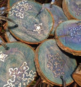 Новогодние украшения на елку