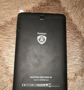 Планшет новый prestigio size 3508 4g