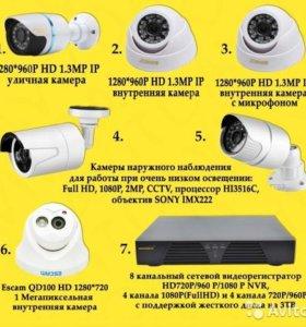 новые камеры видео наблюдения