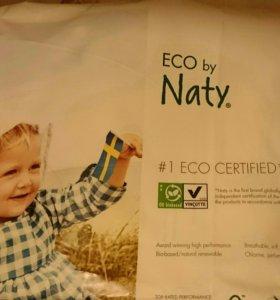 Подгузники для новорожденных Naty