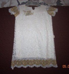 Праздничное платье(104-110см)