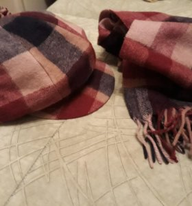 Кепка+шарф