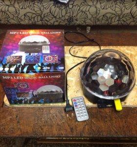 Светомузыкальный шар диско