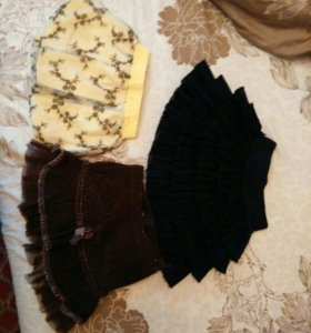 юбки , сарафан 74-80-86