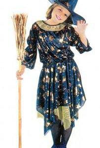 Новогодний,карнавальный костюм ведьмочка