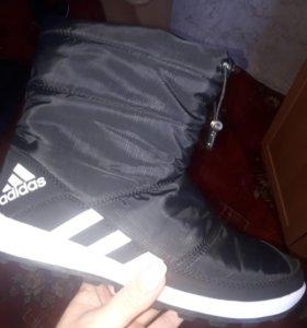 Зимние ботинки Адидас 41