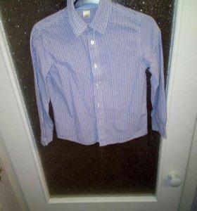 Рубашка на мальчика 6-8 лет