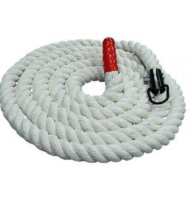 Канат для лазания х/б 3м диаметр 30мм