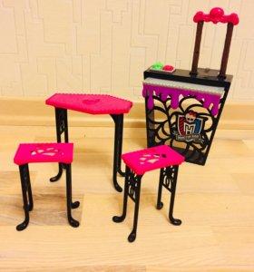 Мебель  для кукол Монстр Хай. Столовая