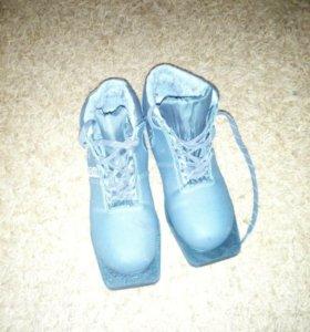 Ботинки для лыж 38 р