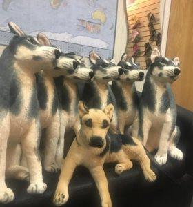 Новая мягкая игрушка Собака Большая